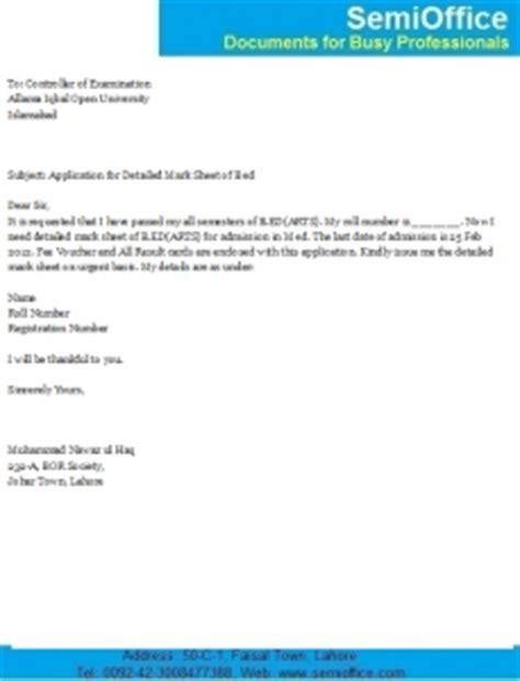 Sample cover letter for applying a new job